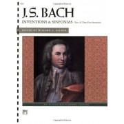 Inventions and Sinfonias: Two- and Three-Part Inventions