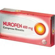 Reckitt benckiser h.(it.) spa Nurofen 12 Compresse Rivestite 400 Mg