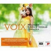 Frederica Von Stade.Regine Crespin,Susan Graham,Nathalie Sutzmann - Voix:Melodies & Airs D'Operas Francais (6CD)