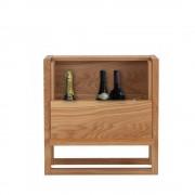 Woodman NewEst - Mini-bar design bois massif - Couleur - Bois massif
