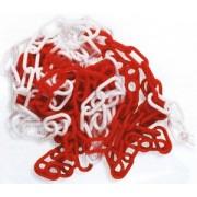 Catena acciaio bianca/rossa mm.5 x 30 mt in scatola