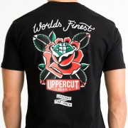 Uppercut Deluxe Men's World's Finest T-Shirt - Black - S - Black