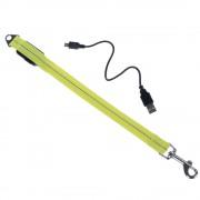 Удължение за кучешки повод с LED светлина - размер S: Д 39 см x Ш 1,9 см