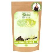 Vanilie pudra raw bio (60g), Obio