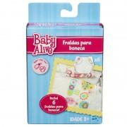 Fralda Para Bonecas Baby Alive Hasbro Ref-a4768a8582