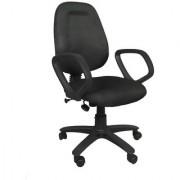 Earthwood --Black Revolving Office Chair