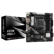 MB, ASRock A320M PRO4-F /AMD А320/ DDR4/ AM4