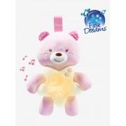 Chicco Luz de presença musical ursinho, da CHICCO rosa claro liso com motivo