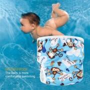 ER Pañales Lavables Ajustable Bebé Nadar Piscina Pantalón Impermeable Del Pañal De Natación