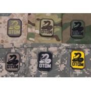 MSM Patch MSM PVC - DTOM (Färg: SWAT)
