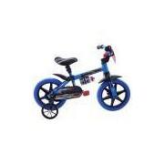 Bicicleta Infantil Aro 12 Cairu Veloz Nathor Azul