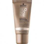 Schwarzkopf Professional Blondme sampon regenerator pe baza de keratina pentru par blond 30 ml