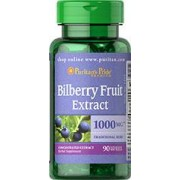 vitanatural bilberry - blåbär 1000 mg 90 softgels