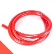 Metal szetthez szilikon mosható szívócső — piros