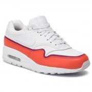 Обувки NIKE - Air Max 1 Se 881101 102 White/White Team Organe