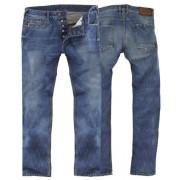 Rokker Daytona Jeans Byxor Blå 28