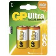 Gp Batteries Blister 2 Batterie GP Ultra Alcaline Mezza Torcia C - 14AU/LR14