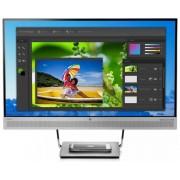 "HP EliteDisplay S240uj 23.8"" Wide Quad HD LED Negro, Plata pantalla para PC"