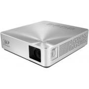 Videoproiector ASUS Mobile S1, WVGA, Mini, Difuzor incorporat 1x2W (Argintiu)
