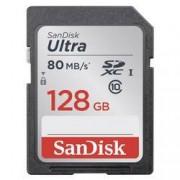 SanDisk Paměťová karta SDXC, 128 GB, SanDisk Ultra® SDSDUNC-128G-GN6IN, Class 10, UHS-I