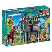 Playmobil Dinos, Cercetatori - Fortareata si T-Rex