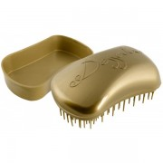 Dessata Mini Anti-Tangle Taschen- Bürste old gold