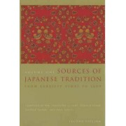 Sources of Japanese Tradition by Wm. Theodore De Bary & Carol Gluck...