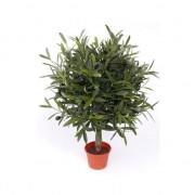 Bellatio flowers & plants Kunstplant/Kantoorplant olijf boom van 50 cm - Kunstplanten