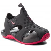 Sandale NIKE - Sunray Protect 2 (TD) 943829 001 Anthracite/Rush Pink