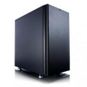 Кутия Fractal Design Define Mini C, Micro ATX/ITX, 2x USB 3.0, черна, без захранване