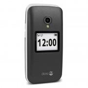 Doro Téléphone Mobile à clapet DORO 2424 - graphite/blanc