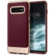 SPIGEN Etui Neo Hybrid do Samsung Galaxy S10 Bordowy