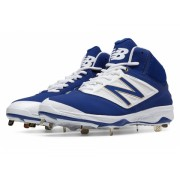 New Balance Mid-Cut 4040v3 Metal Baseball Cleat Blue with White
