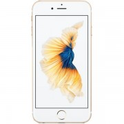 "Telefon Mobil Apple iPhone 6S, Procesor Apple A9, IPS LED-backlit Multi‑Touch 4.7"", 2GB RAM, 128GB flash, 12MP, Wi-Fi, 4G, iOS 9 (Auriu) + Cartela SIM Orange PrePay, 6 euro credit, 6 GB internet 4G, 2,000 minute nationale si internationale fix sau SMS nat"