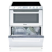 Candy TRIO 9503/1 W/U szabadonálló sütő - üvegkerámia főzőlap - mosogatógép
