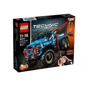 LEGO Technic 6x6 All Terrain Tow Truck 42070 Building Kit (1862 Piece)