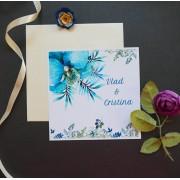 Invitatie nunta carton OPIS052