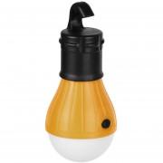 ER Soft Luz Al Aire Libre Colgante LED De Camping Lámpara Bombilla Carpa Pesca Lantern Naranja.
