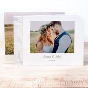 smartphoto Fotobok XL liggande deluxe hårt omslag - Linne