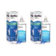 Renu lenzenvloeistof ReNu MultiPlus 2 x 360 ml met lenzendoosjes