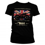 B.S.A. Motor Cycles - The Journey Girly Tee