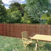 vidaXL fűzfa kerítés 300 x 100 cm