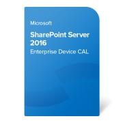Microsoft SharePoint Server 2016 Enterprise Device CAL, 76N-03787 elektronikus tanúsítvány