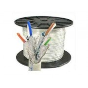305 Meter Roll - SSTP CAT 7 Cable Pure Copper / Ethernet Network Cable up to 10Gbit/s