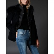 Manteau Maely Lainage Double-Face Femme
