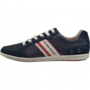 Helly Hansen Mens Kordel Leather Casual Shoe Navy 44/10
