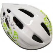 Каска за велосипед Flash - M, бяла, MASTER, MAS-B201-M-white