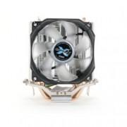Охлаждане за процесор Zalman CNPS7X LED+, съвместимост с Intel LGA Socket 1150, 1151, 1155, 1156, AMD Socket AM2/ AM2+/ AM3/ AM3+/ FM1/ FM2/ FM2+