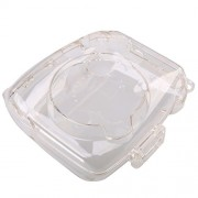 ELECTROPRIME Clear Dust-Proof Camera Case for Fujifilm Instax Mini 8 with Strap Plastic