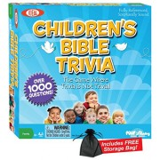Children's Bible Trivia Game with Free Storage Bag